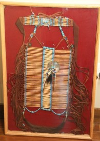 Shoshone Breastplate and Choker