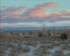 Taos Winter Morning